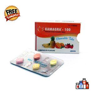 Kamagra Chewable Trial Pack