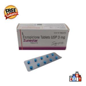 Zunestar 3mg Trial Pack